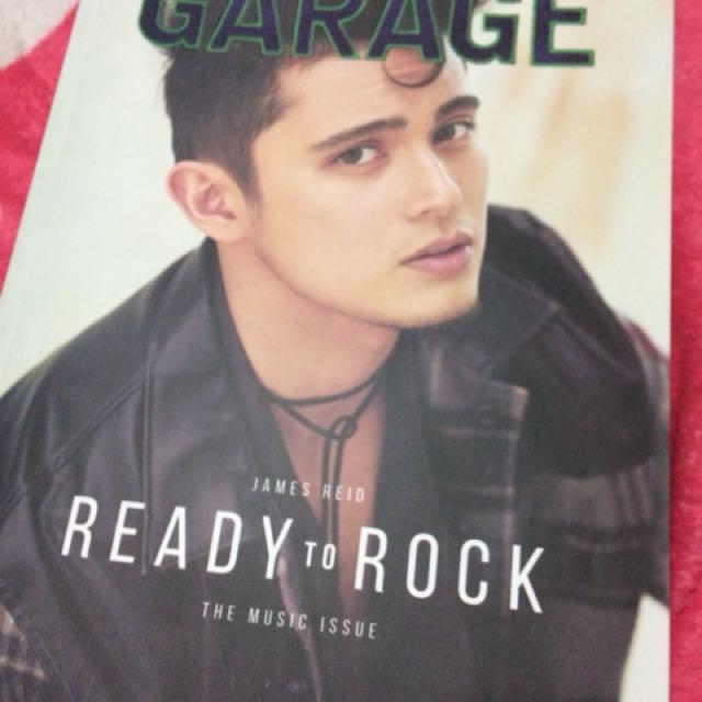 James Reid Garage 2017 cover