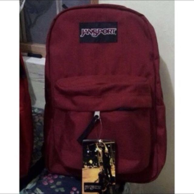 jansport maroon