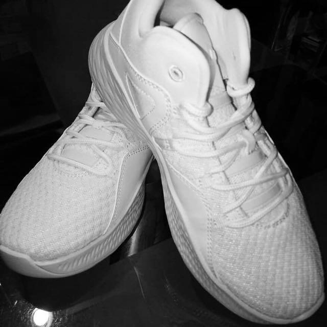 Jordan White Hi-Cut Sneakers