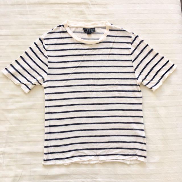 Knit Crop T-shirt