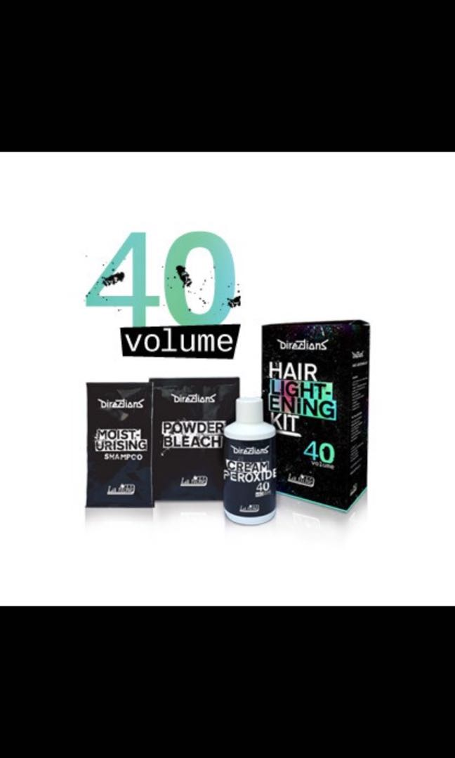 La Riche Direction Hair Dye Volume 40 Bleach Kit Health Beauty