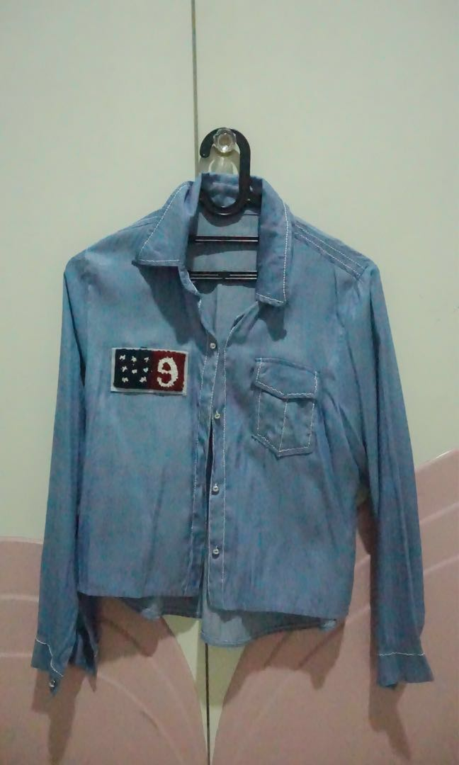 Light Denim Kemeja