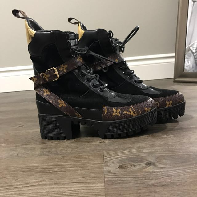 Louis Vuitton Laureate Desert Platform Boot