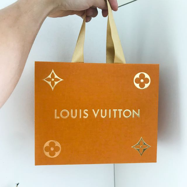 Louis Vuitton Limited Edition paper bag