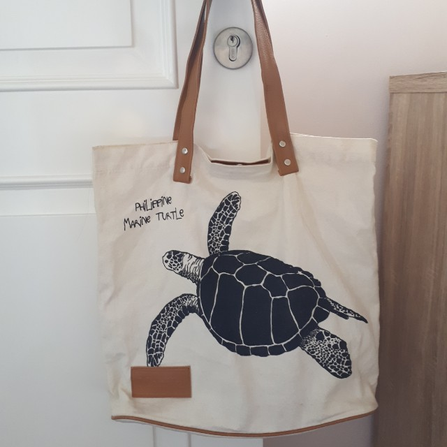 Manila Canvas Tote Bag