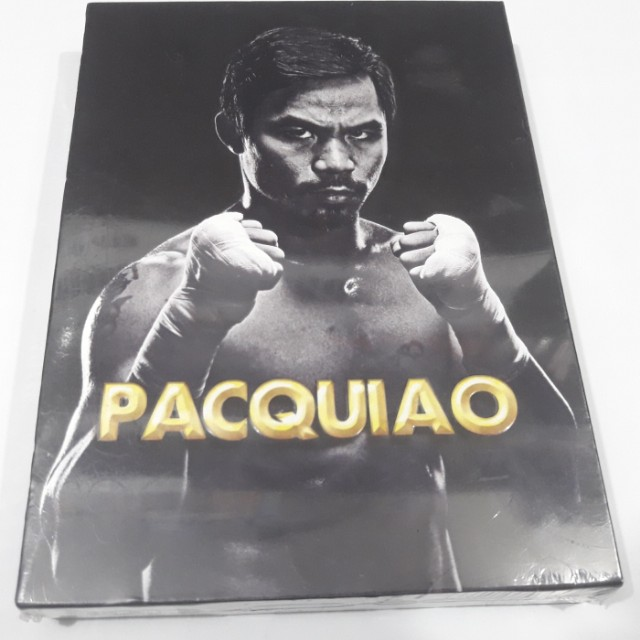 Manny Pacquiao Boxing Fights 5 DVD Set