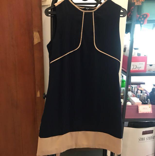 Mini Dress Navy #awaltahun