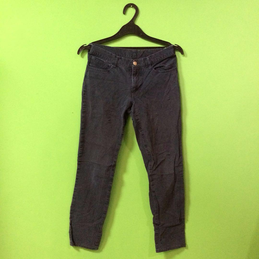 MUJI Blue Navy Pants