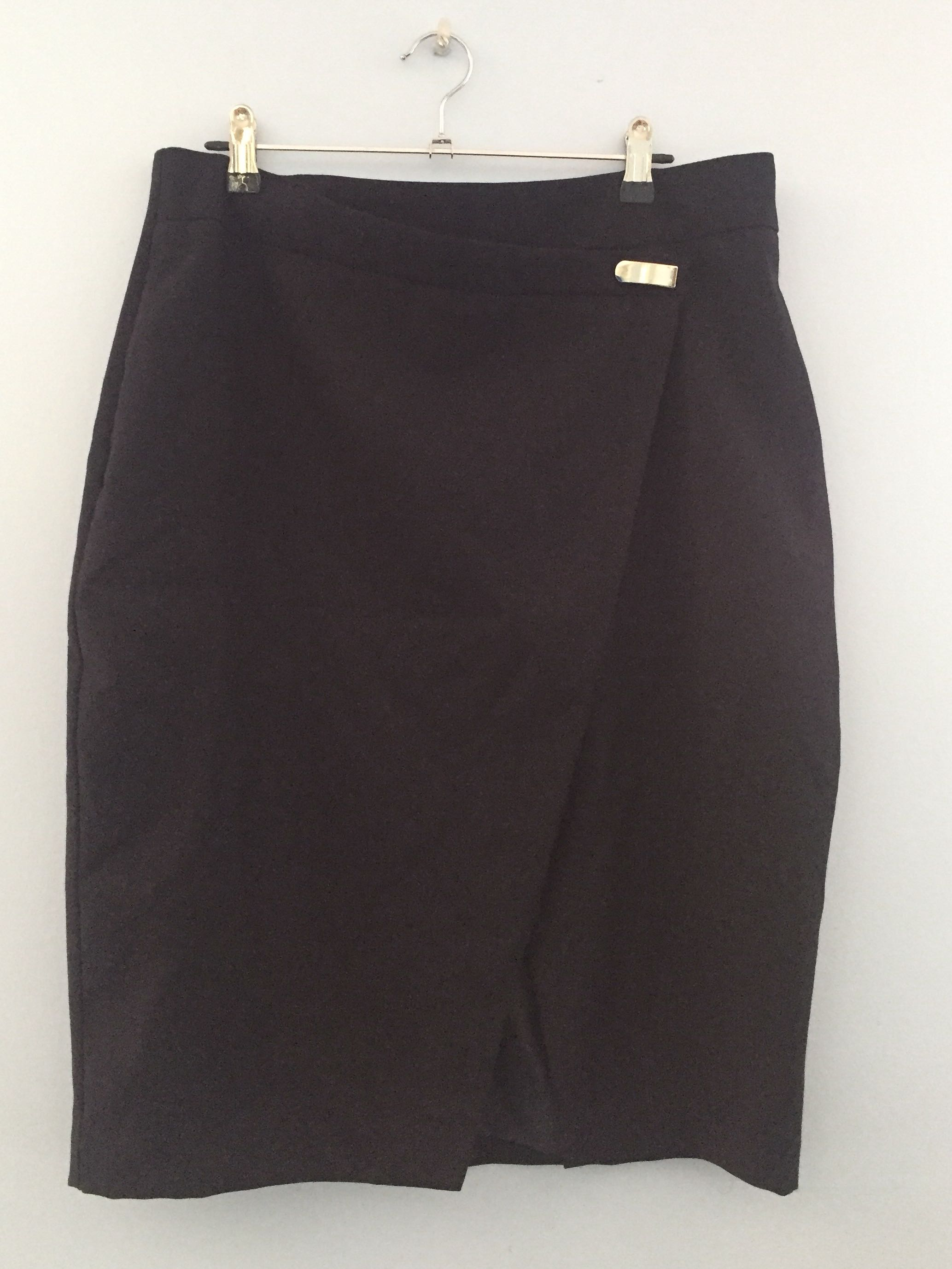 Navy Cross Over Skirt Size 14