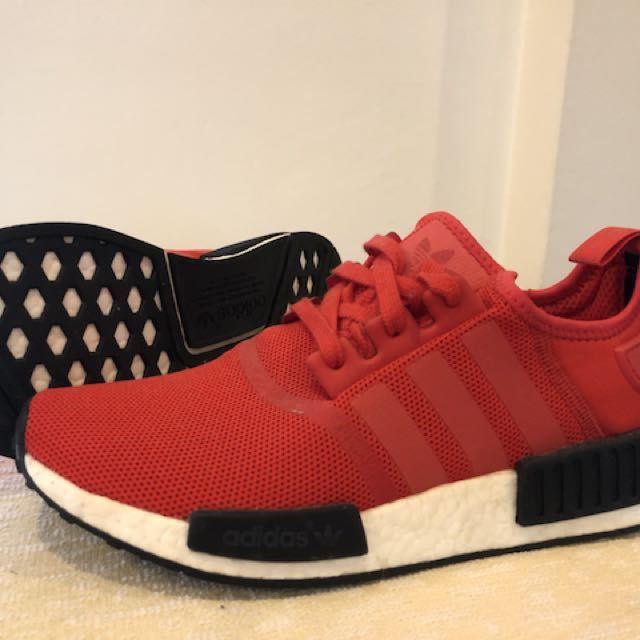 a30fc927a9855 New Adidas NMD Clear Red BB1970 US 8.5 UK 8 EU 42
