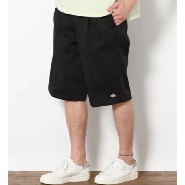 (New) Dickies 經典款 工裝五分短褲 黑色 30腰