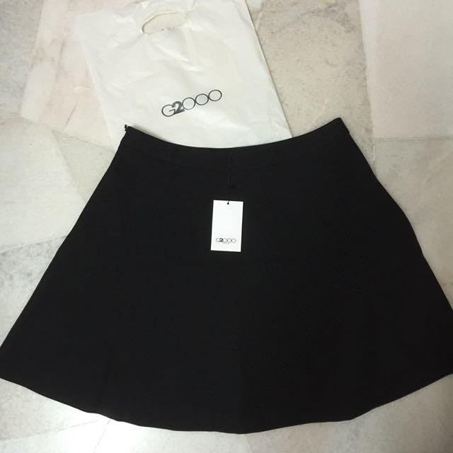 NEW G2000 Formal Black Skirt