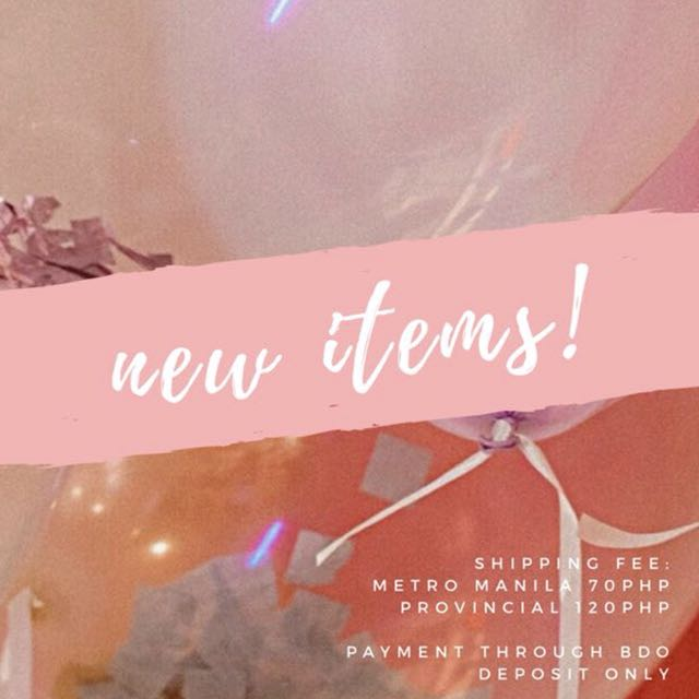 NEW ITEMS ❣️