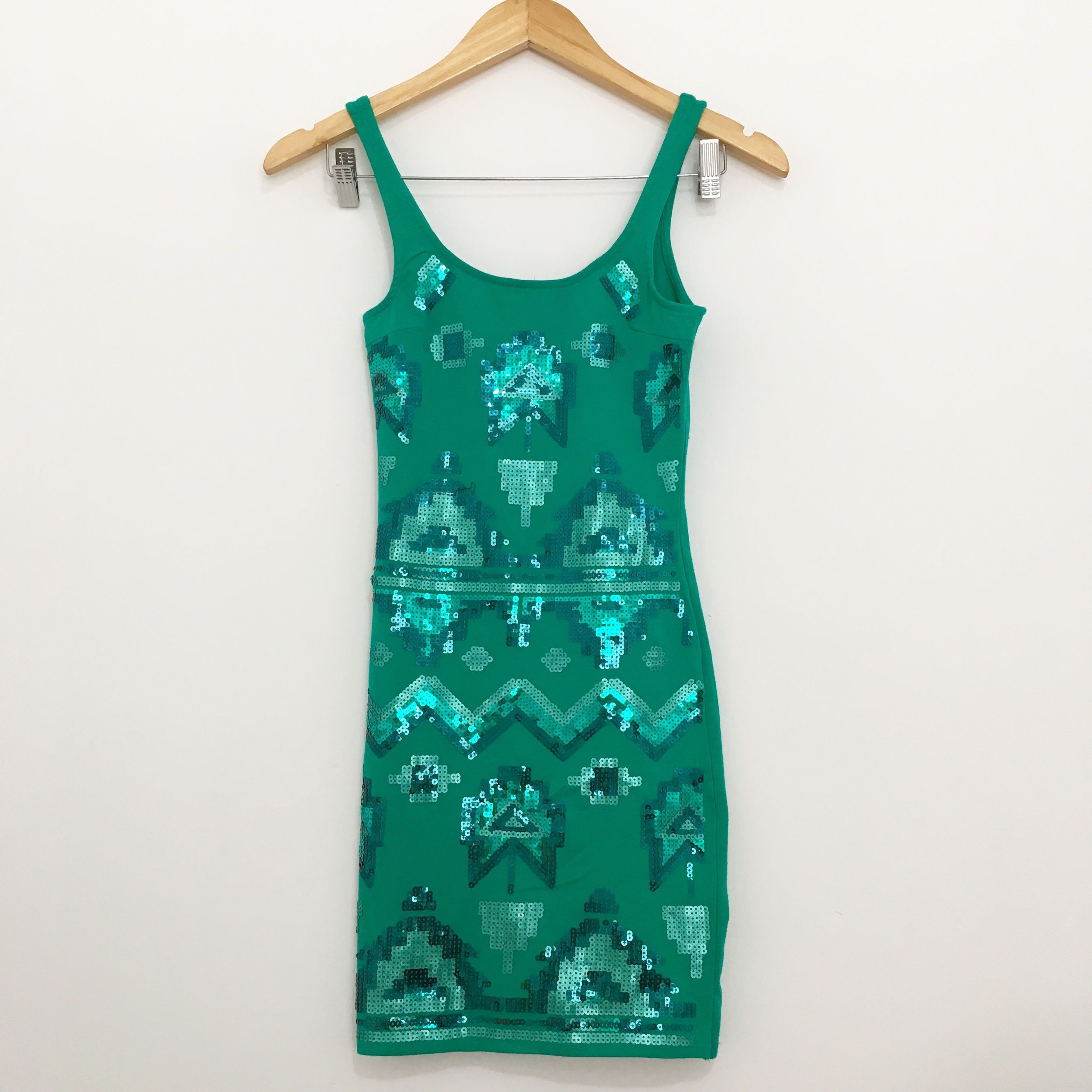 New Wetseal Sequined Bodycon Dress