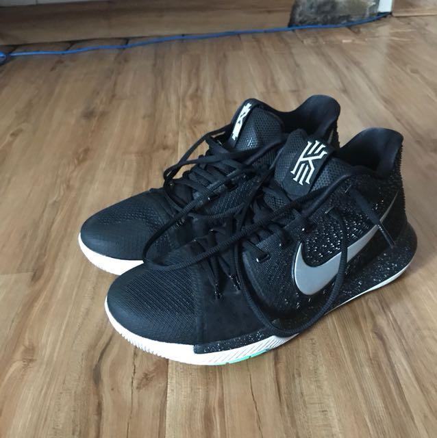 "pretty nice 901d5 b2404 Nike Kyrie 3 ""black icy"""