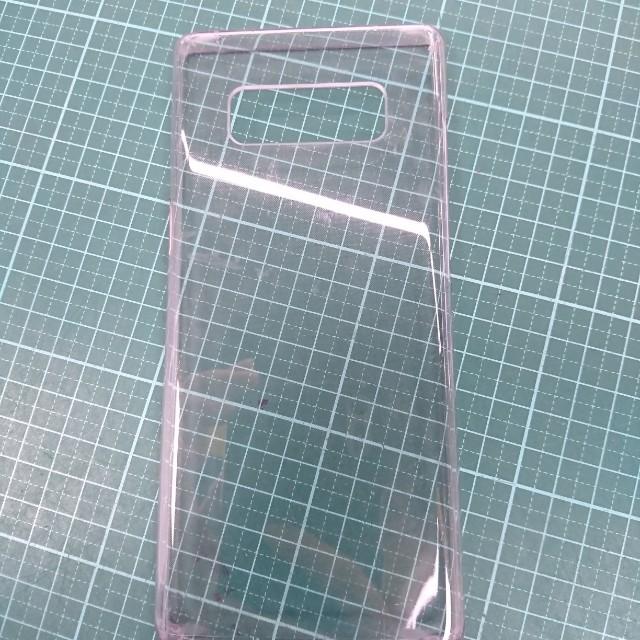 Note8原廠硬殼透明背蓋
