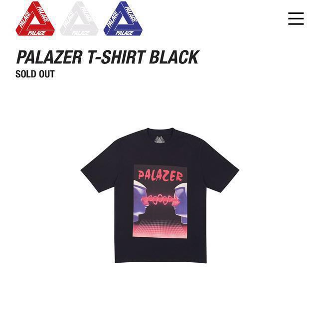 1628f40ba8c2 Palace Palazer Tee, Men's Fashion, Clothes on Carousell