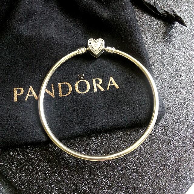 Pandora 硬環 手環