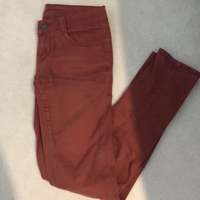 Papaya maroon pants