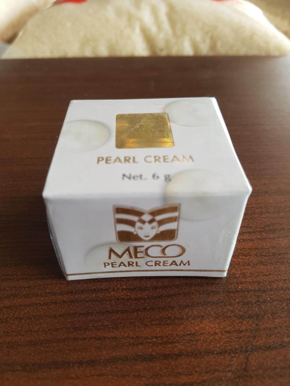 Pearl cream meco new segel krim muka 6g