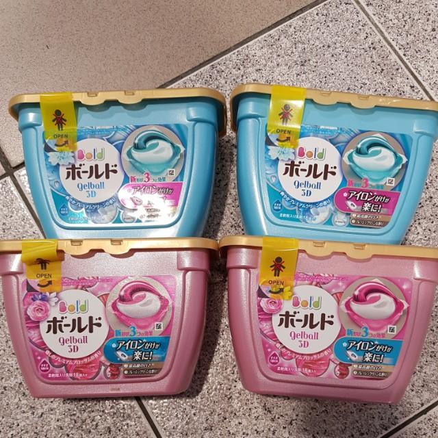 日本P&G 3D洗衣球