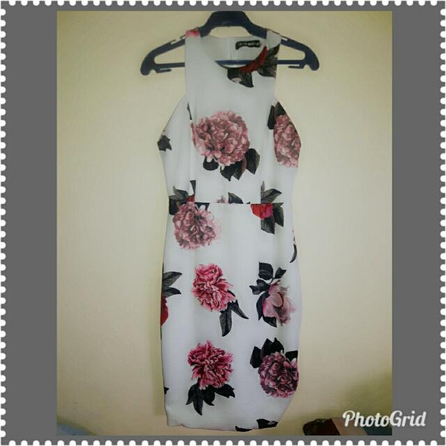 Pink Manila Floral Dress
