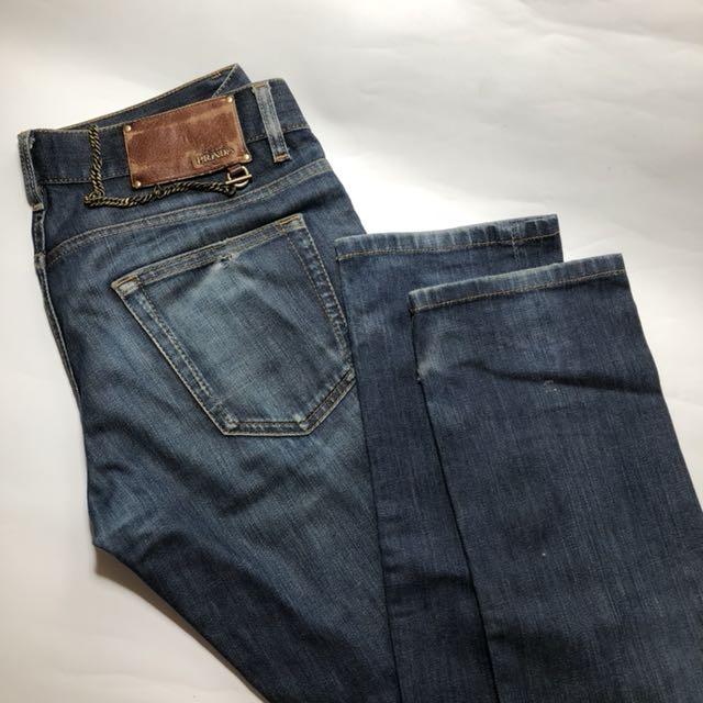 online store add78 d827e Prada Jeans chain slim fit