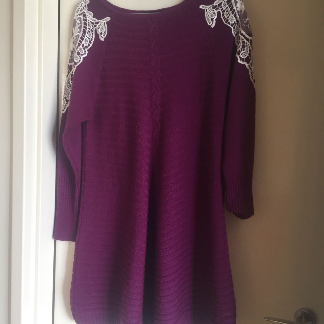Purple tunic/dress