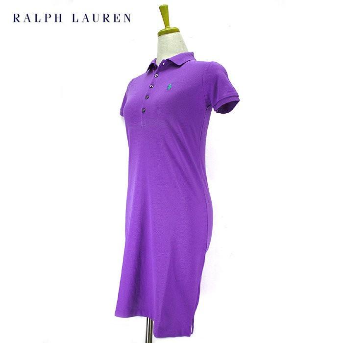 Ralph Lauren Sport Purple Polo Dress XL Rare Design