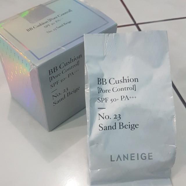 Refill Laneige BB Cushion Pore Control No.23 Sand Beige