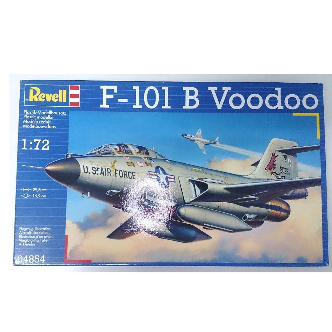 Revell德國 1/72 美軍F-101B Voodoo 巫毒式戰機 04854