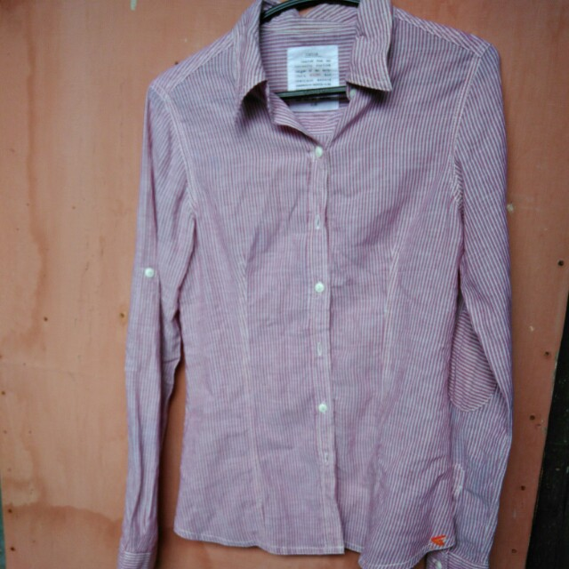 Rodeo pink stripes shirt