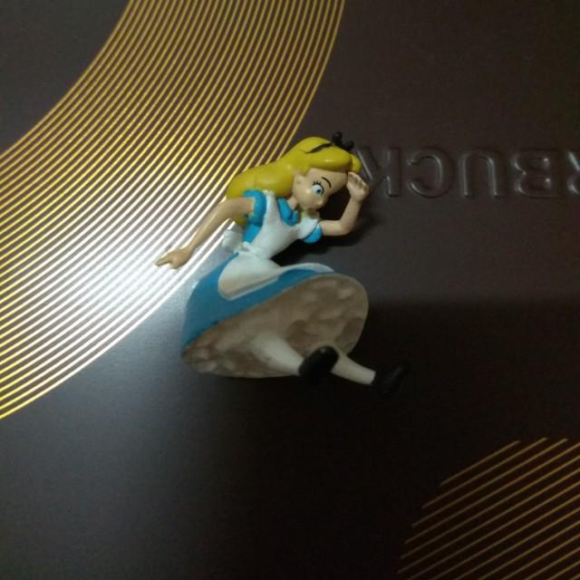 Runa 愛麗絲 夢遊仙境 扭蛋 公仔 玩具