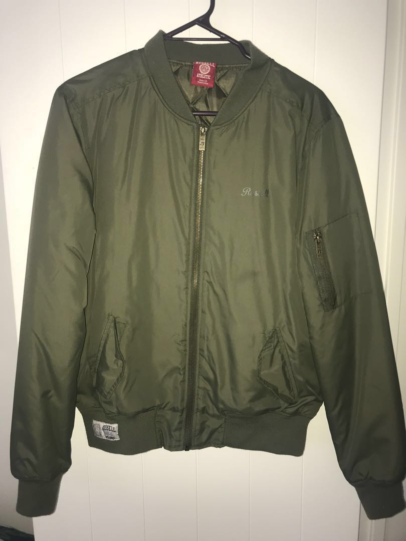 RUSSEL athletic  bomber jacket