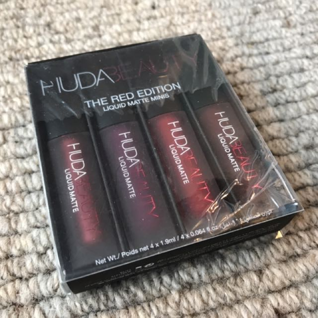 Selling Separately - HUDA BEAUTY RED EDITION