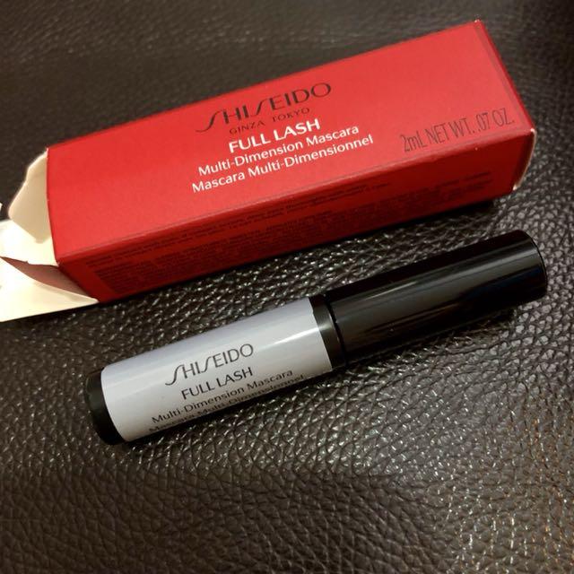 Shiseido sample mascara 2ml.