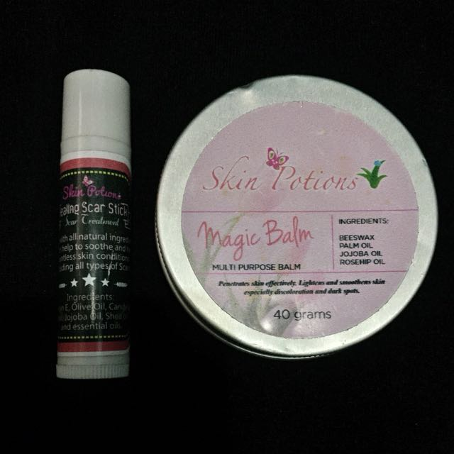 Skinpotions Magic Balm and Scar Stick