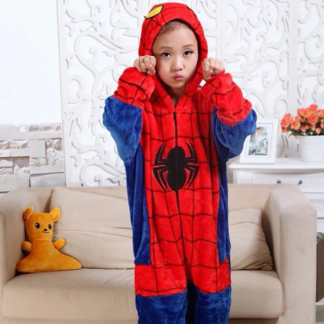 e9700007b72a Spider-Man Onesies Pajama