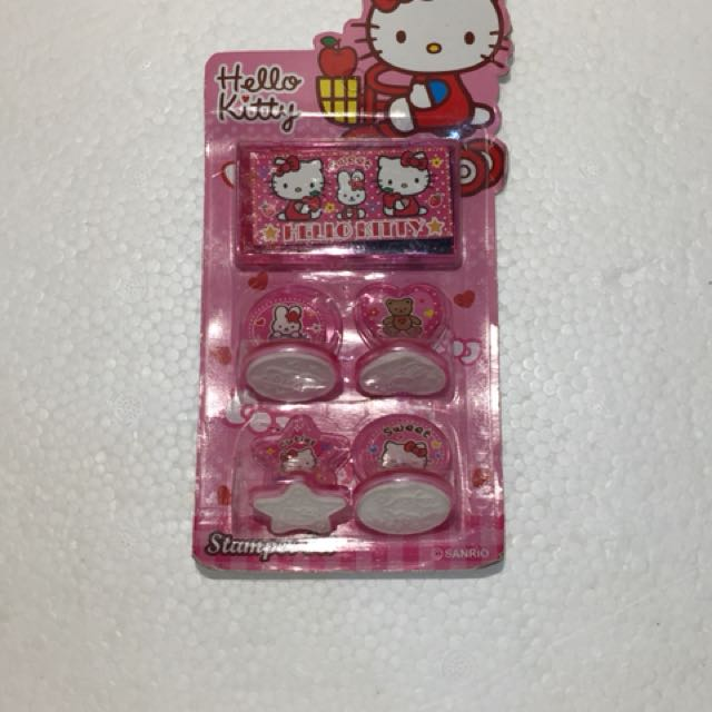 Stampel hello kitty