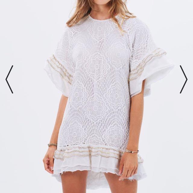 Stevie May Huxley Dress, White