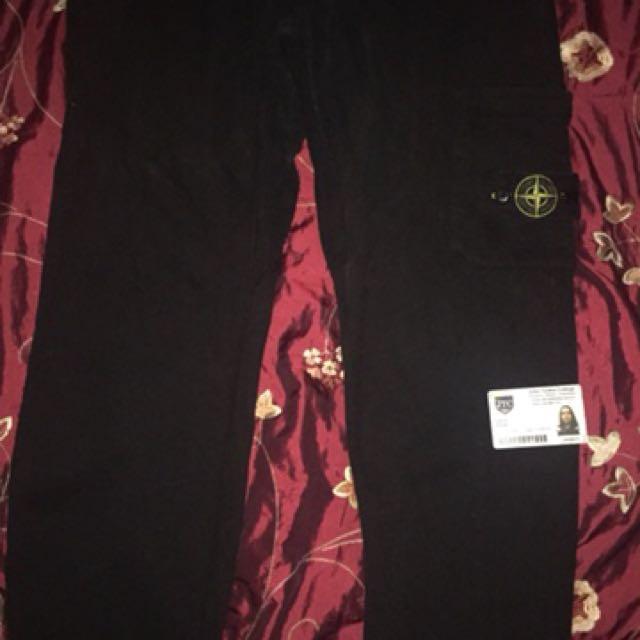 Stone Island Black Pants XL