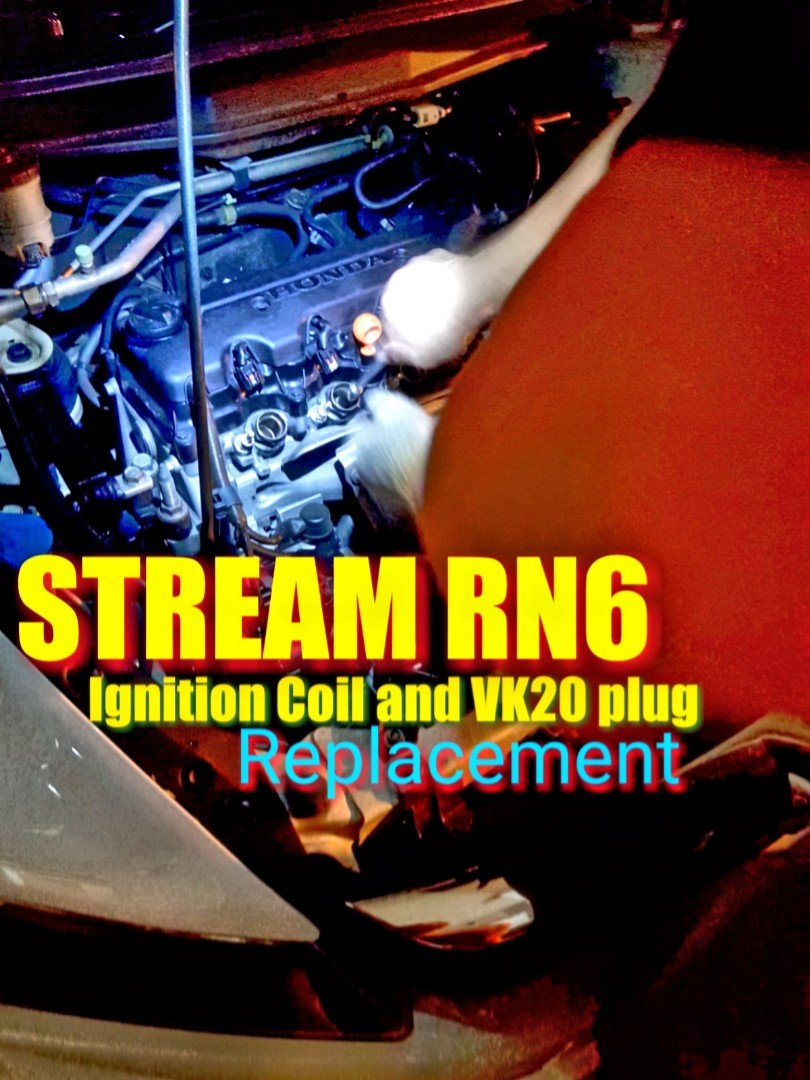 Stream RN6 Ignition Coil and spark plug replacement on spot (great result again!!)