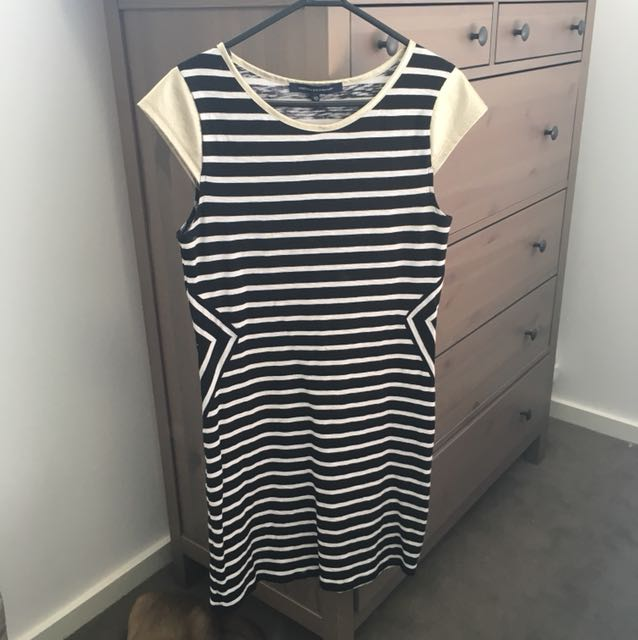 Stripey cotton dress by French Connection