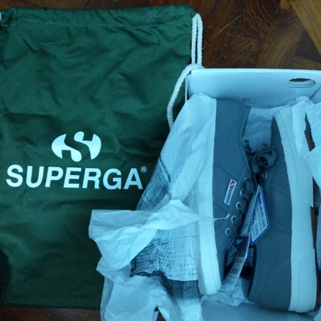 Superga Shoes Gray