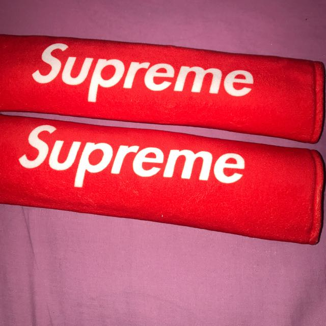 Supreme Seat Belt Covers