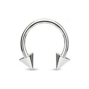 Surgical steel piercing spikes