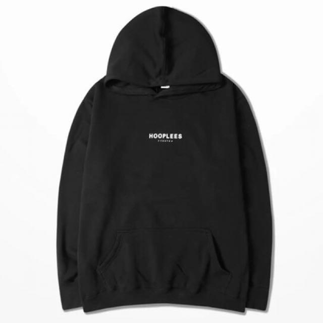 黑色刷毛帽T(男女皆可)