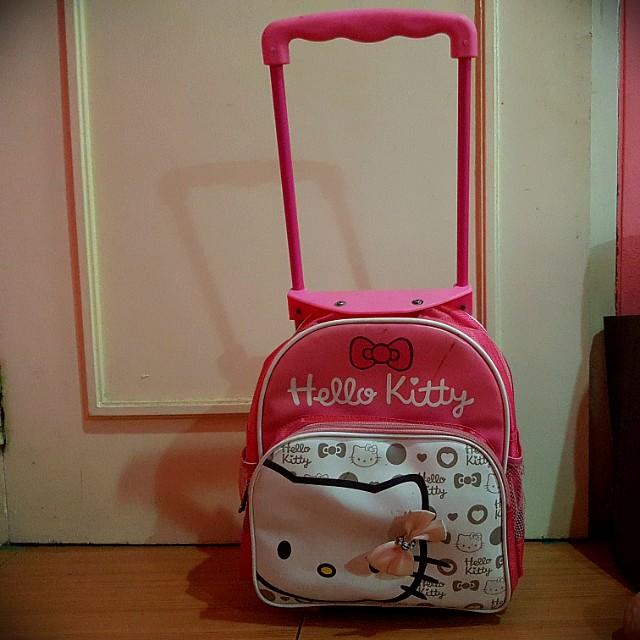 Tas trolley hello kitty