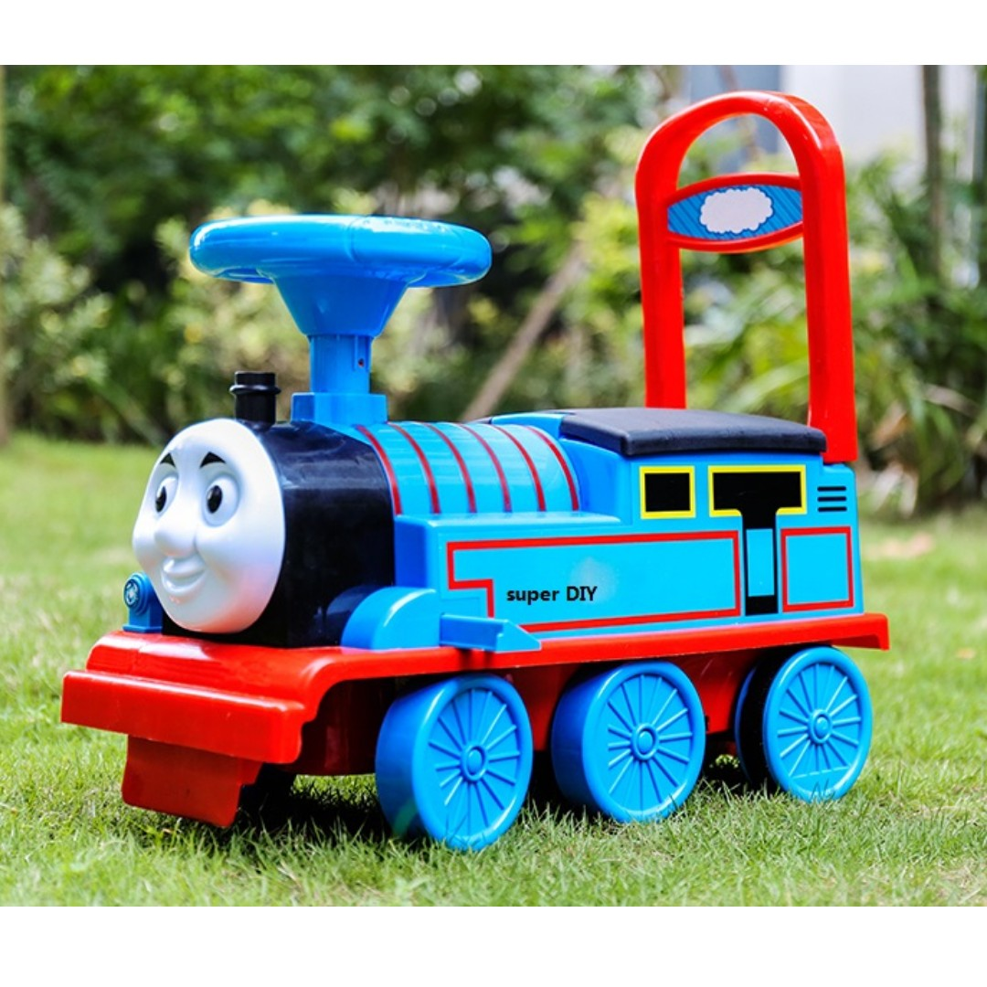 Thomas Kereta Api Maianan kanak-kanak Thomas Ride on Train, Babies & Kids,