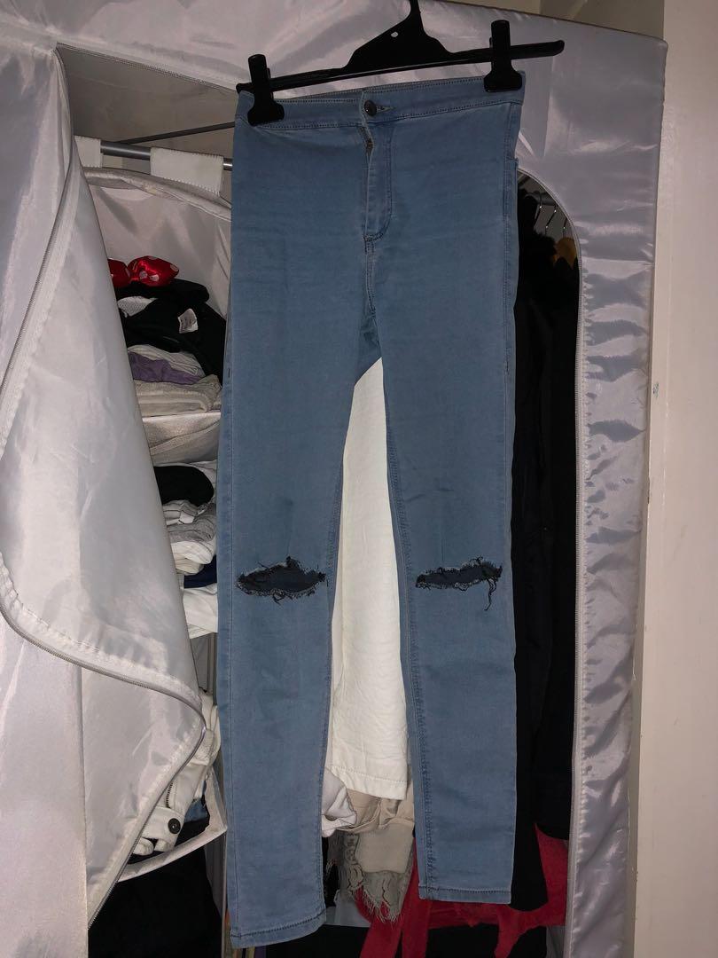 TOPSHOP denim jeans